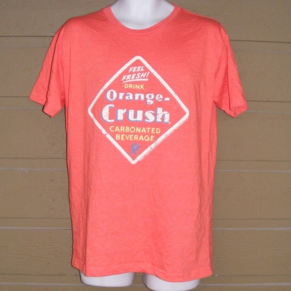 super popular 35b9c 034af Drink ORANGE CRUSH Tee, M, Tee Luv, SS, 1 sided